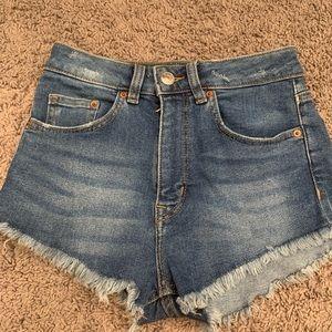 Jean Shorts - H&M - size 4